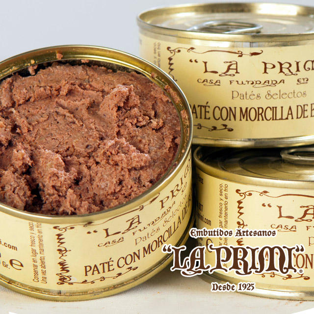 Pate made with Morcilla from Burgos